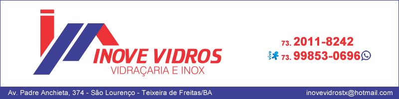 Inove Vidros Vidraçaria e Inox