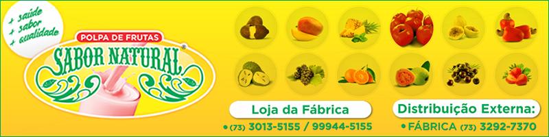 Polpa de Frutas Sabor Natural